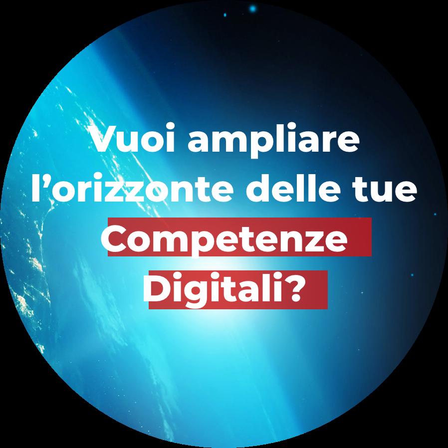 Vuoi ampliare l'orizzonte delle tue Competenze Digitali? - Master SDB 2021